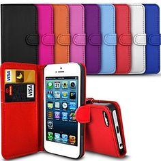 pinkqueen ® elegante pu lederen case voor de iPhone 4/4s (diverse kleuren) – EUR € 4.55