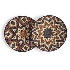 Imizi grasses and Ilala palm Zulu baskets.