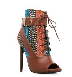 The Shantreece bootie is perfect for your Halloween costume! #ShoeDazzle
