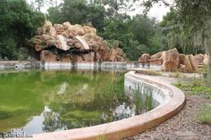 Walt Disney World, Lake Buena Vista, Florida, abandoned its first water park called 'River Country' in 2001. More: http://en.wikipedia.org/wiki/Disney's_River_Country