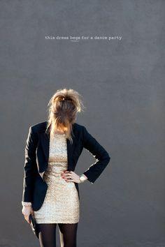 Dress + Blazer <3