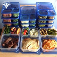 Become a Meal Prep Pro diet health fitness Fitness Meal Prep, Healthy Meal Prep, Healthy Snacks, Health Fitness, Healthy Recipes, Fitness Diet, Eating Healthy, Little Lunch, Meal Prep For The Week