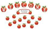 "Checkout the ""Apples and Dots Welcome Mini Bulletin Board"" product"