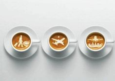 Latte art travel version