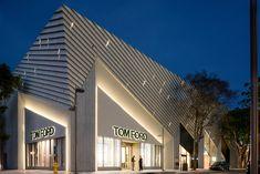 Aranda\Lasch creates pleated concrete facade for...
