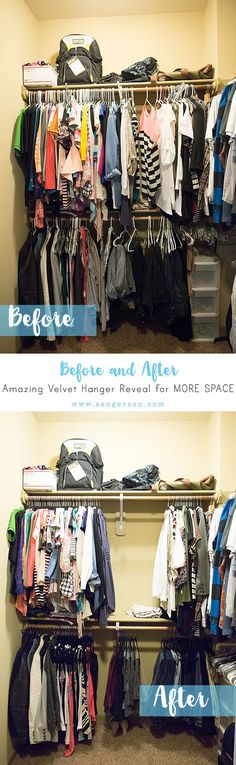 High Quality Velvet Hangers Are Amazing Because They Give You So Much Space Back In Your  Closet.