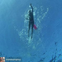 From Guam . Credit to @ironwomanry : Vitamin Sea & Vitamin D are the best ways to start any day  Long swims in the great blue fish bowl never get old and I take comfort in having my @newwaveswimbuoy with me so my friends (and nearby boats & jet skis) can easily find me! Long course swimming is my newhappy place     #openwaterswimming #swimming #pacificocean #badassisbeautiful #badassery #lovethepain #tri365 #doepicshit #triathlon #triathlontraining #triathlete #newwaveswimbuoy #aquasphere…