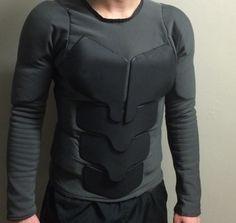 Custom Batsuit: practical combat armor (Photoshoot 2-22)