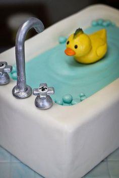 I need to make this adorable cake!