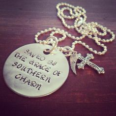 Hand Stamped Aluminum Quote From Miranda Lambert Song Only Prettier on Etsy, $24.00