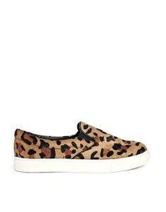 Steve Madden Ecentric Leopard Slip On Sneakers - Leopard