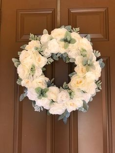 Mother's Day, Mother's Day gift idea, wedding gift, wedding present, wedding wreath, housewarming gift ideas, front door wreaths, wreaths for the front door, spring wreath, summer wreath, year round wreath, floral wreath, farmhouse wreath, peony wreath, summer wreath for the front door, home decor, lambs ear, rustic wreath, country wreath, diy