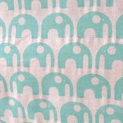 Love this Elephant fabric in EK Green by Umbrella Prints (Australia) on Etsy.