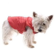 Excellent quality - if you want the best then this is the all weather dog coat to choose! Fastened with velcro - this can be adjusted to fit skinny dogs through to those who may be a bit on the chubby side!