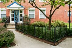 Mature Lawns at Crescent Park Village in Southeast Washington DC | WC Smith #Apartments | Anacostia #Rentals