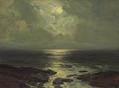 Moonlit Coast, Frederick Judd Waugh