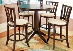 Hallie  5 Pc Counter Height Dining Room