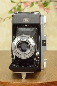 MINT! 6x9 Zeiss-Ikon Nettar CLA'd, with case. #ZeissIkon