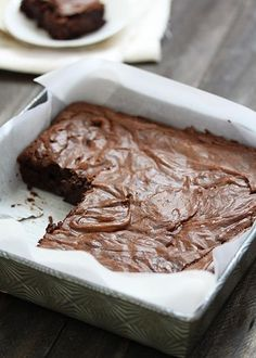 Simplest Homemade Fudgy Brownies