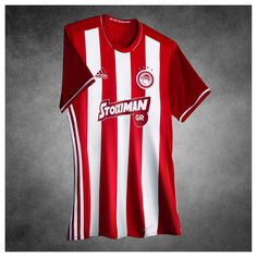 d2159bfd91 Camisas do Olympiacos FC 2016-2017 Adidas