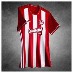 Camisas do Olympiacos FC 2016-2017 Adidas