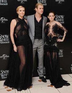 Biancaneve e il Cacciatore Charlize Theron Chris Hemsworth Kristen Stewart foto dalla Premiere Mondiale di Londra 9