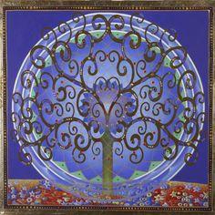 Wealth Tree Blue