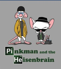 Pinky and the brain!