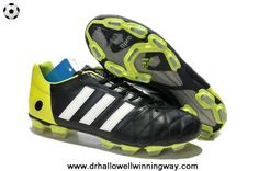 New Black/Green 2014 World Cup adidas adipure 11Pro TRX FG Football Boots 2014 Soccer Cleats
