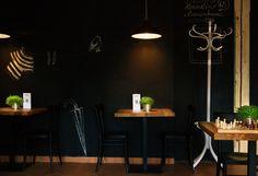 Interior of Café Black and Wine. (Vrchlabí/Czech Republic)