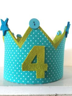 coronas de fieltro para cumpleaños de la mama des ven