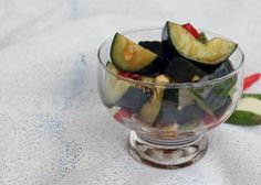 Cold and spicy pickled cucumber in sweet soya sauce 1 Taiwanese Cucumber Salad (小黃瓜)