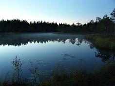 Seitseminen National park in Finland