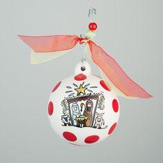 Glory Haus Third Day Nativity Ball Ornament