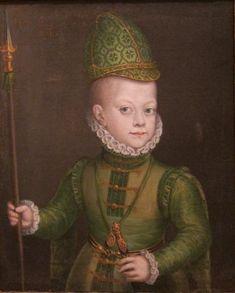 Portrait of a Boy at the Spanish Court - Anguissola Sofonisba