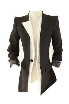 Gezuckt Design Montage Black Blazer(Halloween sale on Oct.26th)