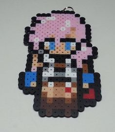 Lightning FF13 Bead Sprite | Chibi Style | Keychain, Magnet and more | Final Fantasy