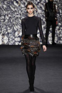 Nicole Miller Fall 2014 - NYFW - Fashion Runway