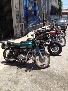 70's and 80's motorcycles www.suburbanriot.com