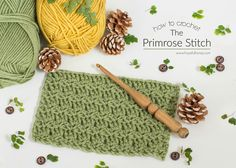 Hopeful Honey | Craft, Crochet, Create: How To: Crochet The Primrose Stitch - Easy Tutoria...