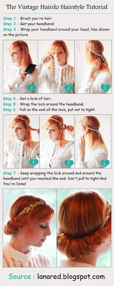 The Vintage Hairdo Hairstyle Tutorial