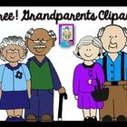 Free set of Grandparent Clip Art!  Included are 4 images; 2 PNG and 2 line art.  All images are saved at 300dpi for best print quality.  Celebrate ...