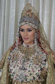 Mariée de Tétouan - Nord du Maroc
