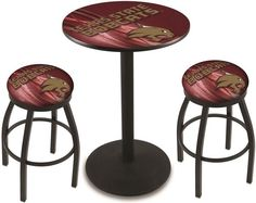 Texas State Bobcats D2 Black Pub Table Set. Available in two table widths. Visit SportsFansPlus.com for Details.