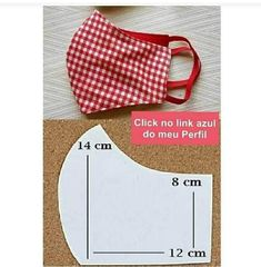 Small Sewing Projects, Sewing Hacks, Sewing Tutorials, Sewing Crafts, Dress Tutorials, Easy Face Masks, Diy Mask, Fashion Sewing, Sewing Techniques