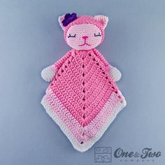 Kitty Lovey / Security Blanket pattern from One and Two Company