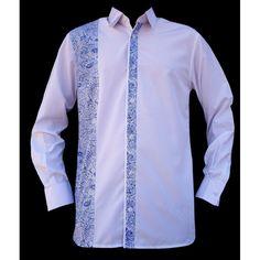 Un subtil mélange de coton et polyester. Fluide, légère et chemise facile à repasser!!! Cette chemise plaira aux hommes pressés mais soucieux de leur look.