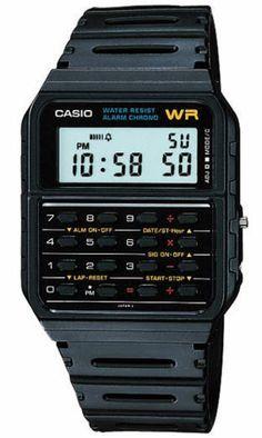 Casio Calculator Watch