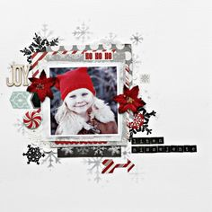 My Creative Scrapbook December kits 3/4 - UmeNorskans scrapbookblogg