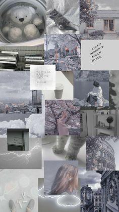 Grey Aesthetic Wallpaper